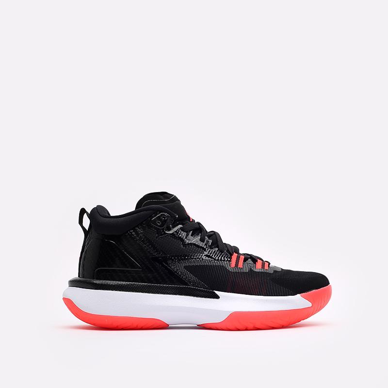мужские чёрные  кроссовки jordan zion 1 DA3130-006 - цена, описание, фото 1
