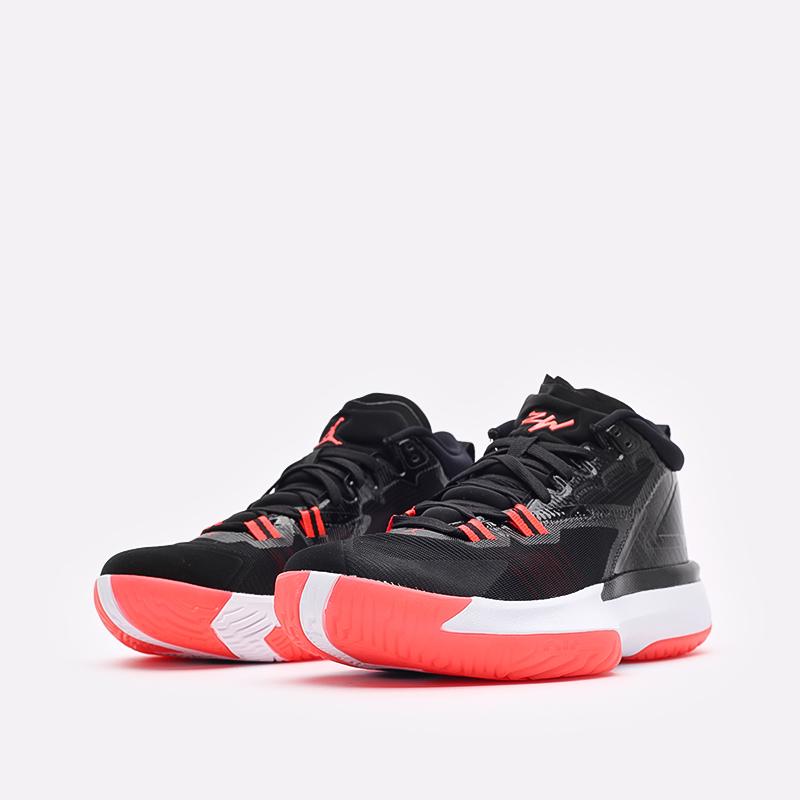 мужские чёрные  кроссовки jordan zion 1 DA3130-006 - цена, описание, фото 4