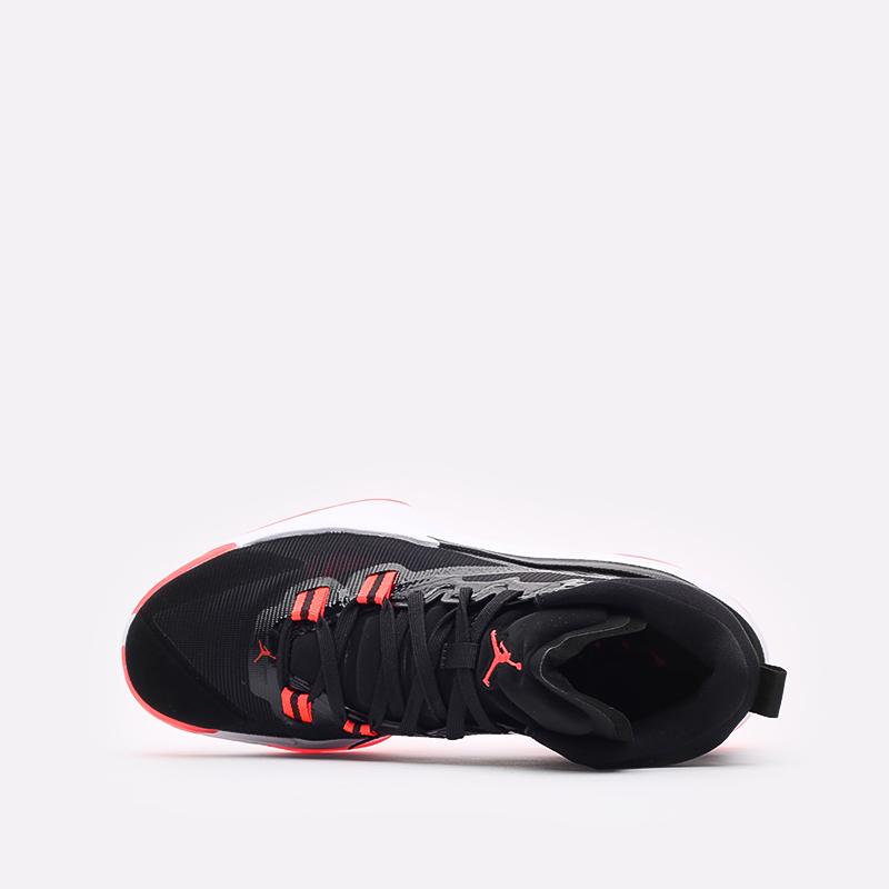 мужские чёрные  кроссовки jordan zion 1 DA3130-006 - цена, описание, фото 6