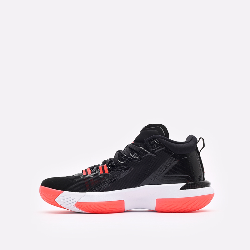 мужские чёрные  кроссовки jordan zion 1 DA3130-006 - цена, описание, фото 2