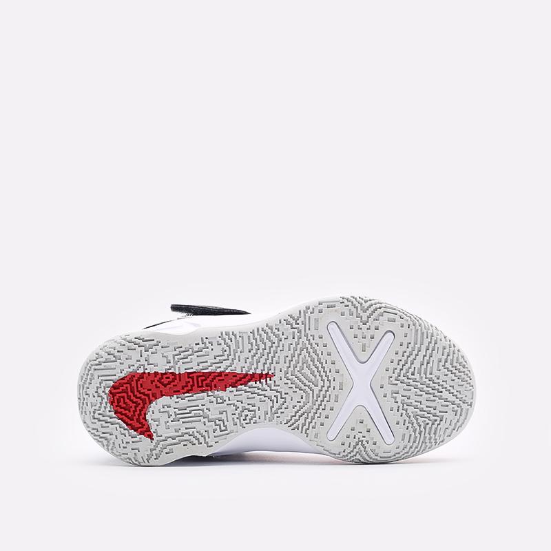 детские синие баскетбольные кроссовки Nike Team Hustle D 10 Flyease (PS) DD7302-005 - цена, описание, фото 5