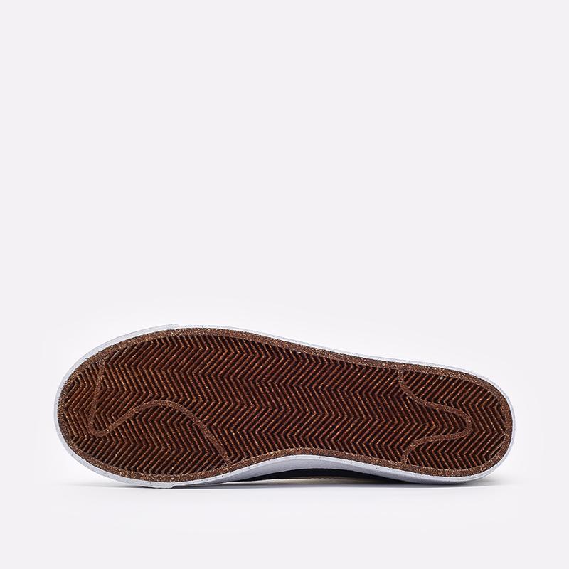 мужские чёрные  кроссовки nike blazer mid '77 CI1166-001 - цена, описание, фото 5