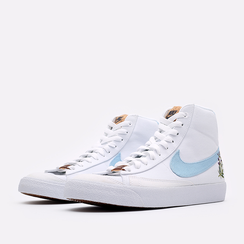 мужские белые кроссовки Nike Blazer Mid '77 CI1166-100 - цена, описание, фото 4