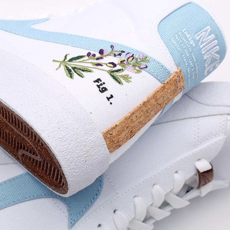 мужские белые кроссовки Nike Blazer Mid '77 CI1166-100 - цена, описание, фото 6