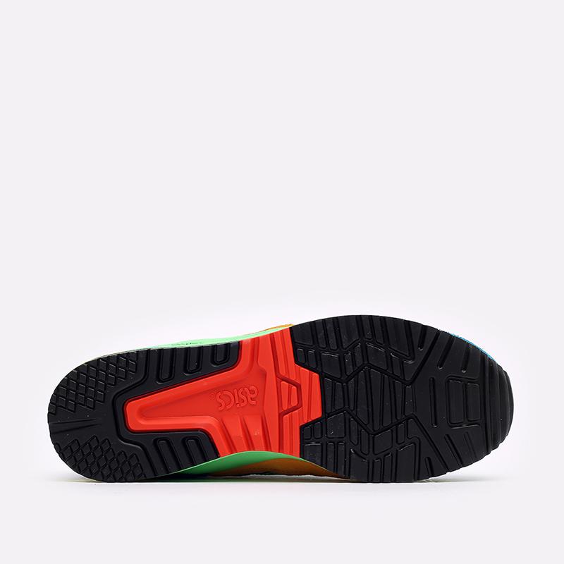 разноцветные кроссовки ASICS Gel-Lyte III OG 1201A429-300 - цена, описание, фото 5