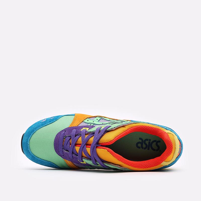 разноцветные кроссовки ASICS Gel-Lyte III OG 1201A429-300 - цена, описание, фото 6