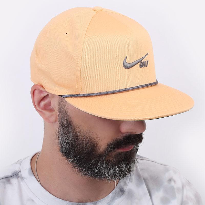оранжевую  кепка nike aerobill retro72 golf hat CU9889-734 - цена, описание, фото 1