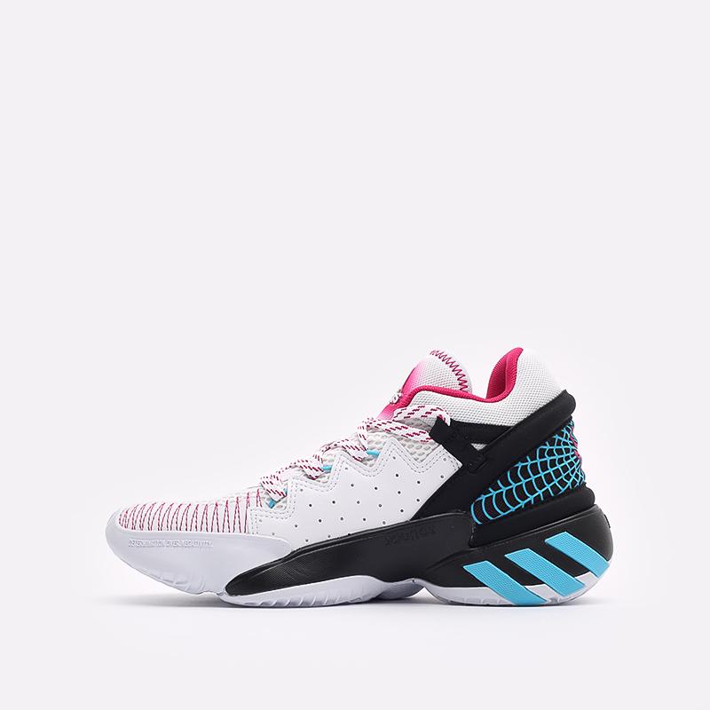 мужские белые  кроссовки adidas d.o.n. issue 2 FX3457 - цена, описание, фото 2
