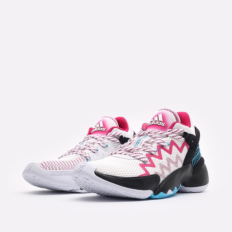 мужские белые  кроссовки adidas d.o.n. issue 2 FX3457 - цена, описание, фото 4
