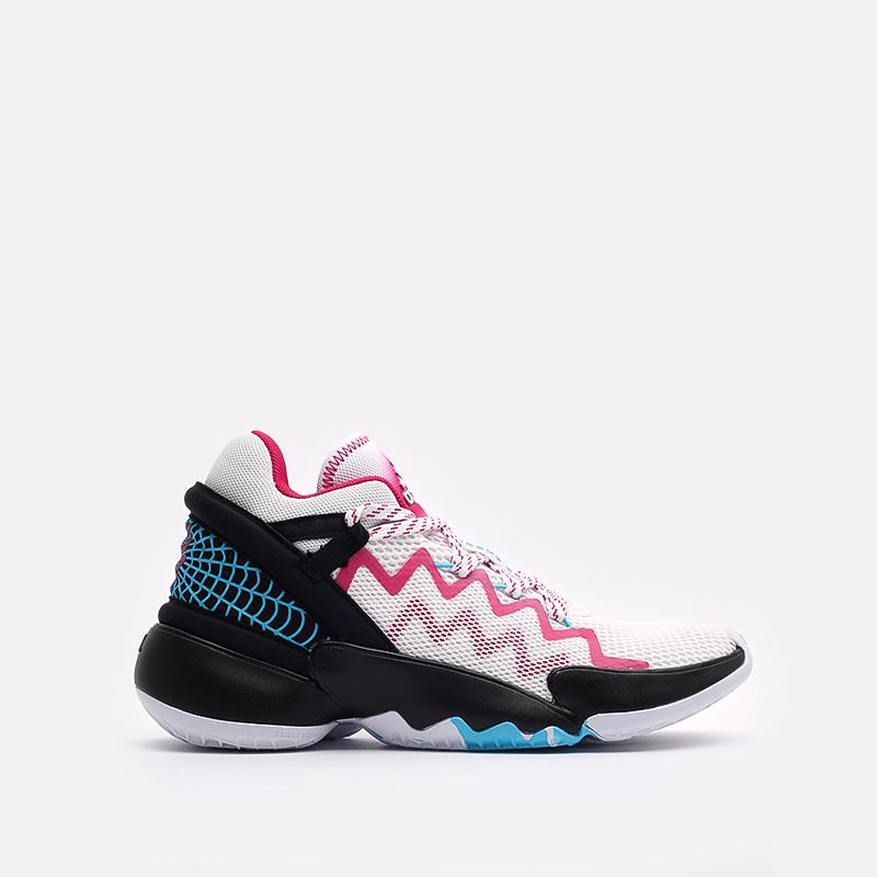 мужские белые  кроссовки adidas d.o.n. issue 2 FX3457 - цена, описание, фото 1