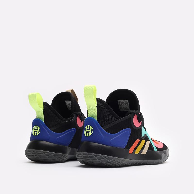 черные баскетбольные кроссовки adidas Harden Stepback 2 FZ1069 - цена, описание, фото 3