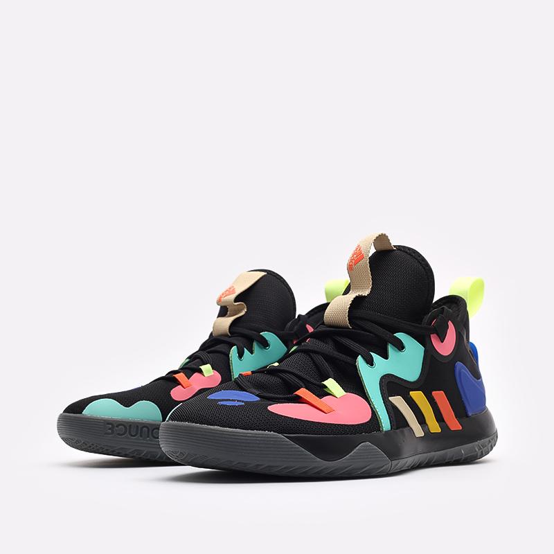 черные баскетбольные кроссовки adidas Harden Stepback 2 FZ1069 - цена, описание, фото 4