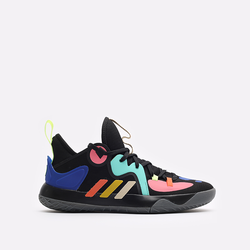 черные баскетбольные кроссовки adidas Harden Stepback 2 FZ1069 - цена, описание, фото 1