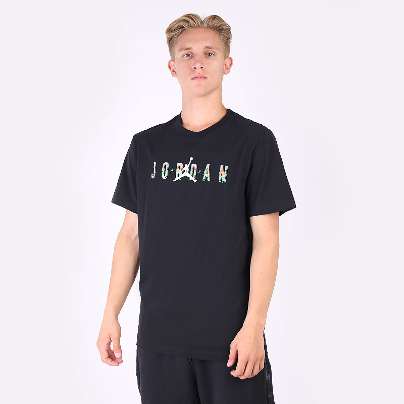 мужская черная футболка Jordan Short-Sleeve HBR T-Shirt CZ8083-010 - цена, описание, фото 1