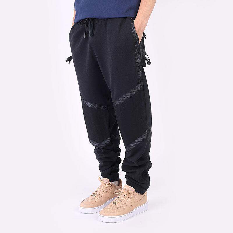 мужские черные  брюки jordan zion fleece pant DH0584-011 - цена, описание, фото 1