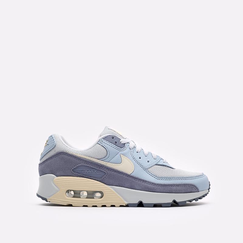 мужские синие  кроссовки nike air max 90 prm DM2829-001 - цена, описание, фото 1