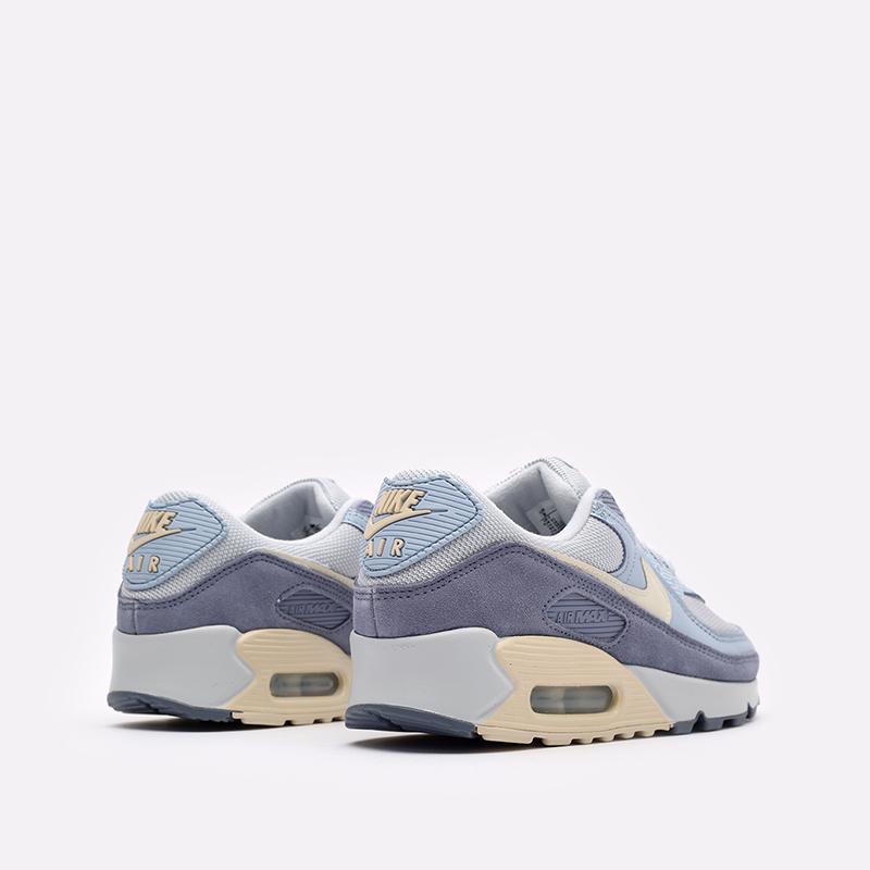 мужские синие  кроссовки nike air max 90 prm DM2829-001 - цена, описание, фото 3