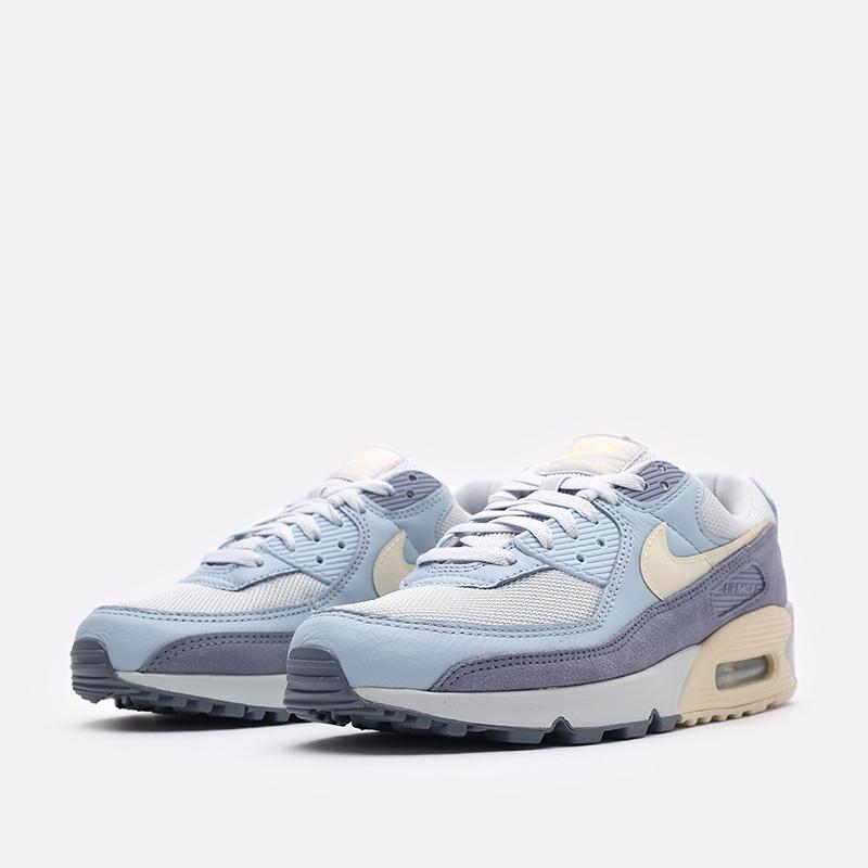 мужские синие  кроссовки nike air max 90 prm DM2829-001 - цена, описание, фото 4