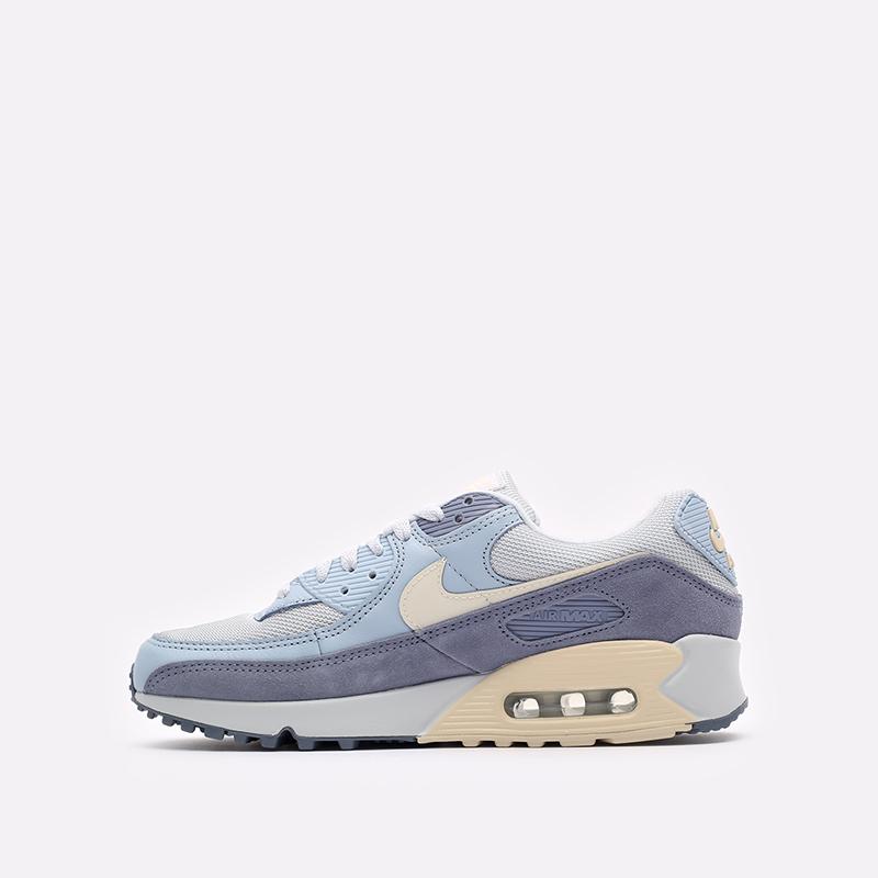мужские синие  кроссовки nike air max 90 prm DM2829-001 - цена, описание, фото 2