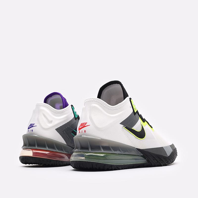 мужские разноцветные  кроссовки nike lebron xviii low CV7562-100 - цена, описание, фото 3