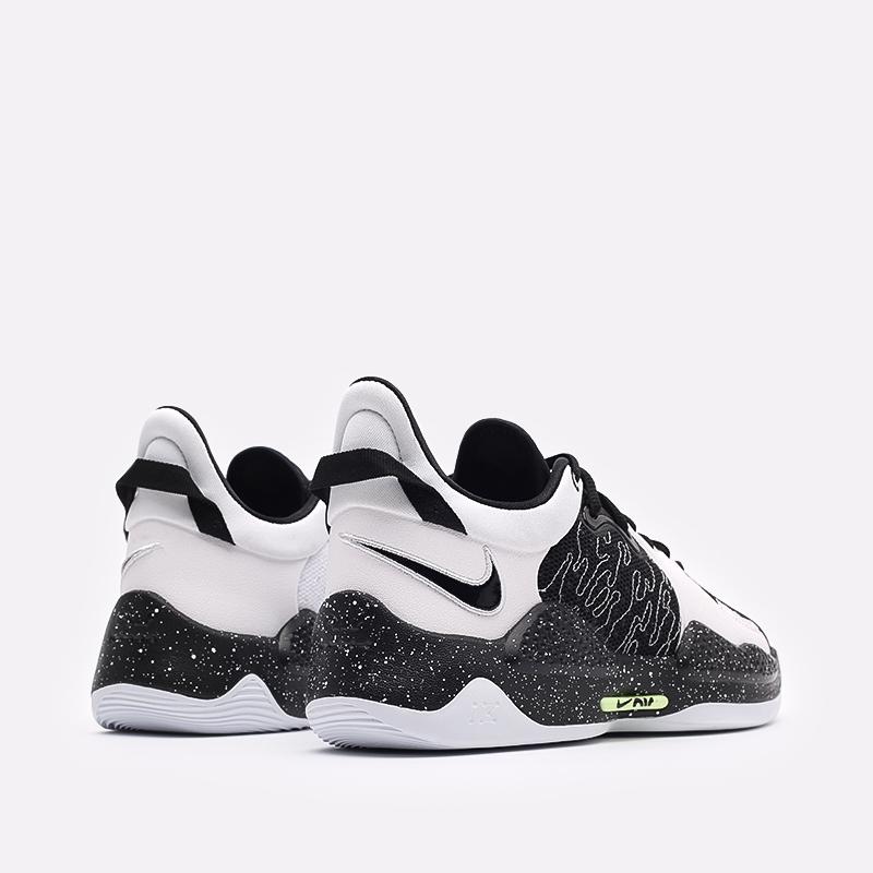 мужские черные баскетбольные кроссовки Nike PG 5 CW3143-003 - цена, описание, фото 3