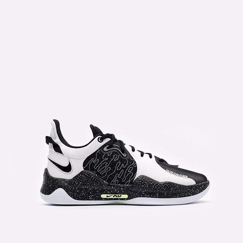 мужские черные баскетбольные кроссовки Nike PG 5 CW3143-003 - цена, описание, фото 1