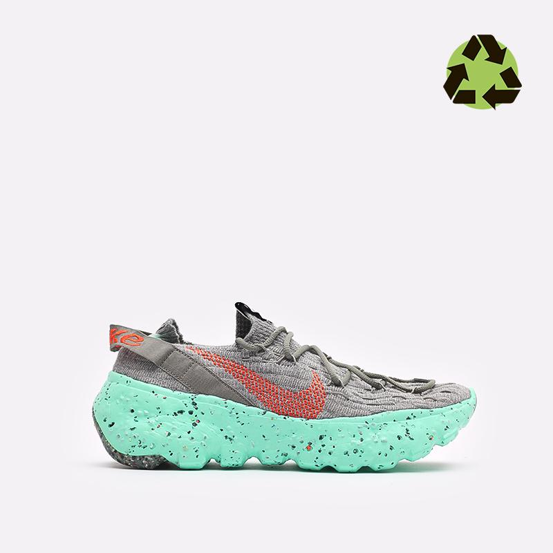 мужские серые  кроссовки nike space hippie 04 CZ6398-020 - цена, описание, фото 1