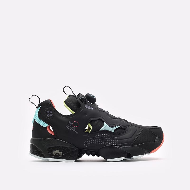 мужские чёрные  кроссовки reebok instapump fury og FY6778 - цена, описание, фото 1
