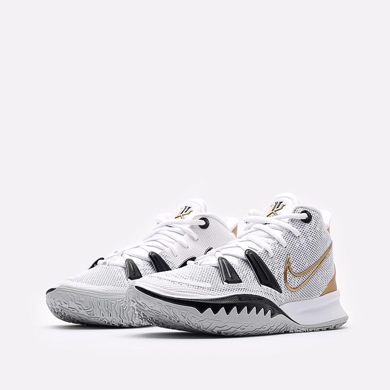 белые  кроссовки nike kyrie 7 CQ9326-101 - цена, описание, фото 4