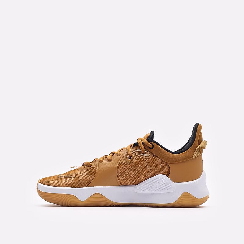 коричневые баскетбольные кроссовки Nike PG 5 CW3143-700 - цена, описание, фото 2