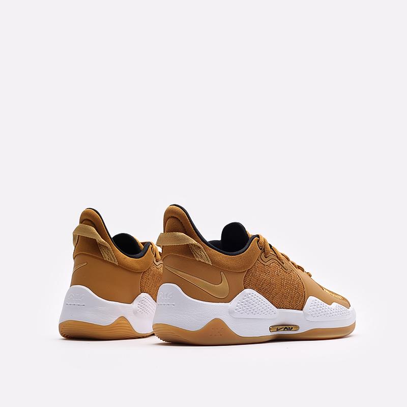 коричневые баскетбольные кроссовки Nike PG 5 CW3143-700 - цена, описание, фото 3