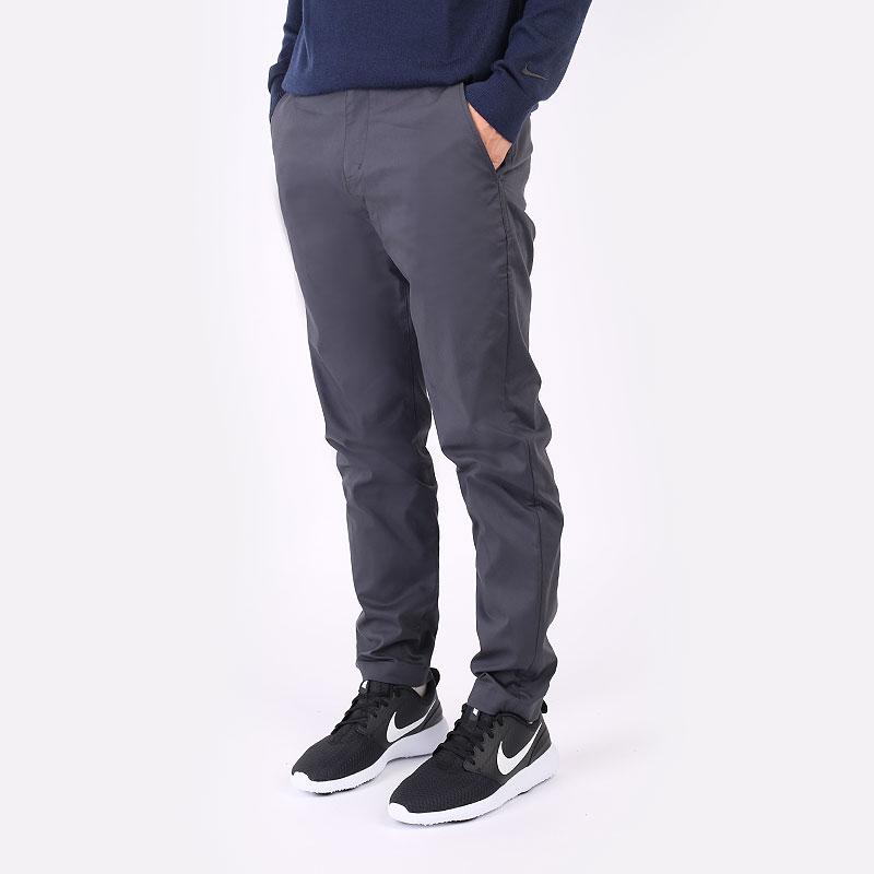 мужские серые  брюки nike dri-fit uv standard fit golf chino pants DA4089-070 - цена, описание, фото 1