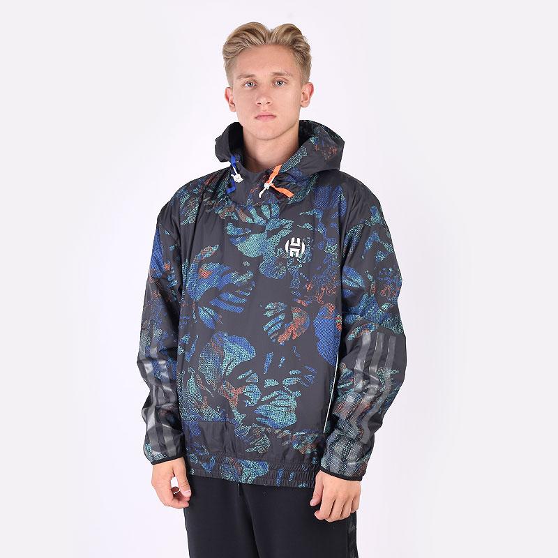 мужскую разноцветную  куртку adidas hrdn nxt jkt GH6696 - цена, описание, фото 1