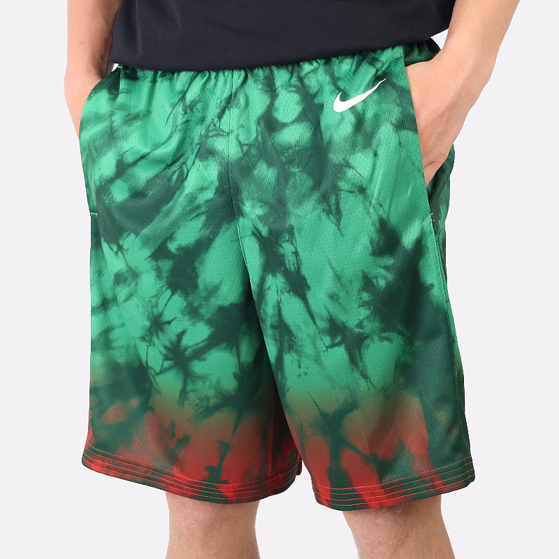 мужские зеленые шорты  Nike Team Lithuania Limited Edition Road Shorts CQ0193-341 - цена, описание, фото 1