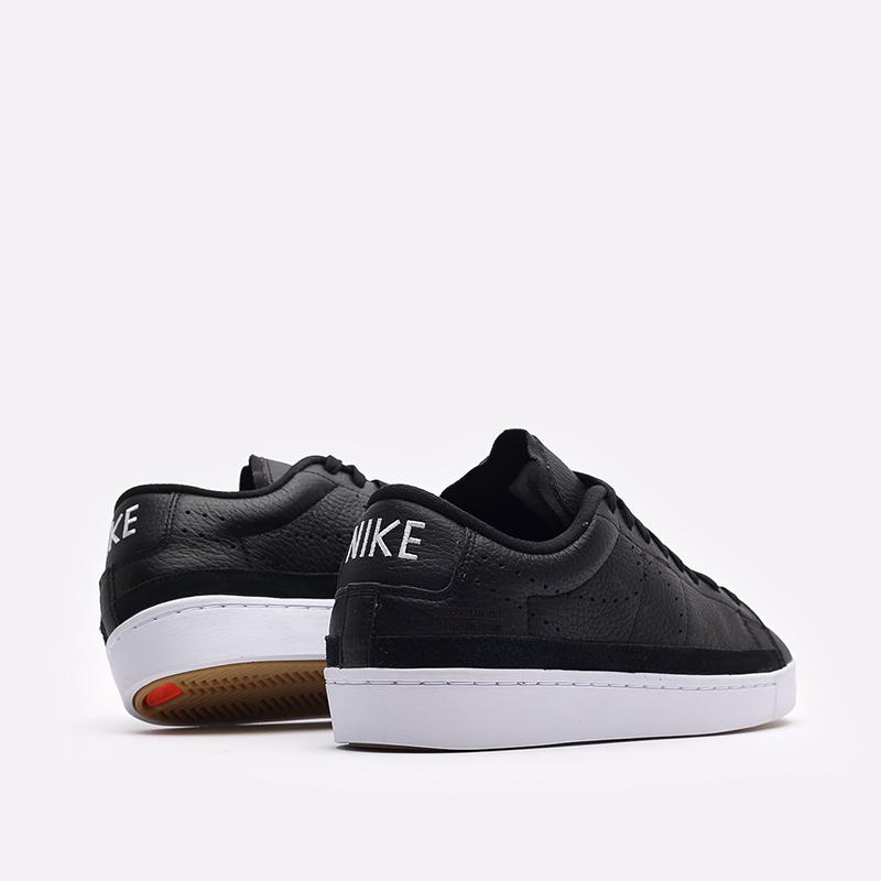мужские белые кроссовки Nike Blazer Low X DA2045-001 - цена, описание, фото 3