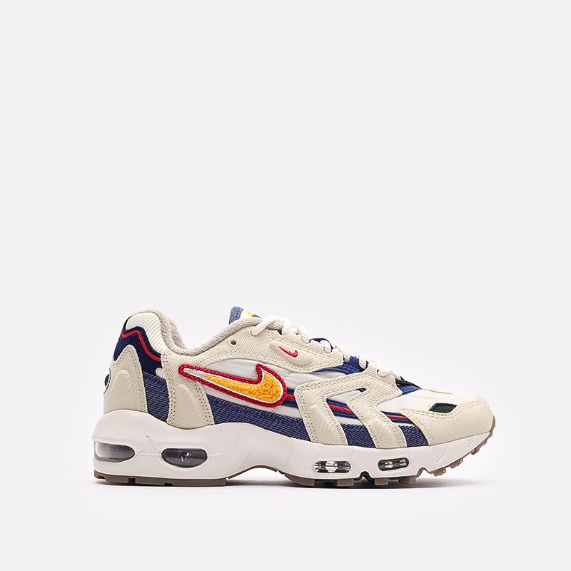 бежевые  кроссовки nike air max 96 ii qs DJ6742-200 - цена, описание, фото 1