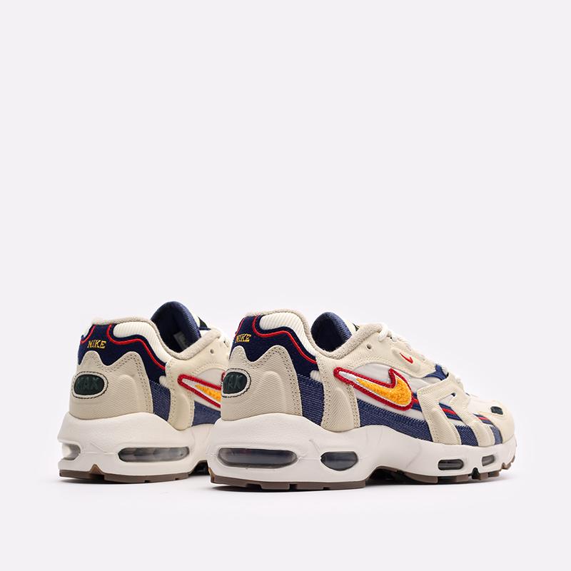 бежевые  кроссовки nike air max 96 ii qs DJ6742-200 - цена, описание, фото 3