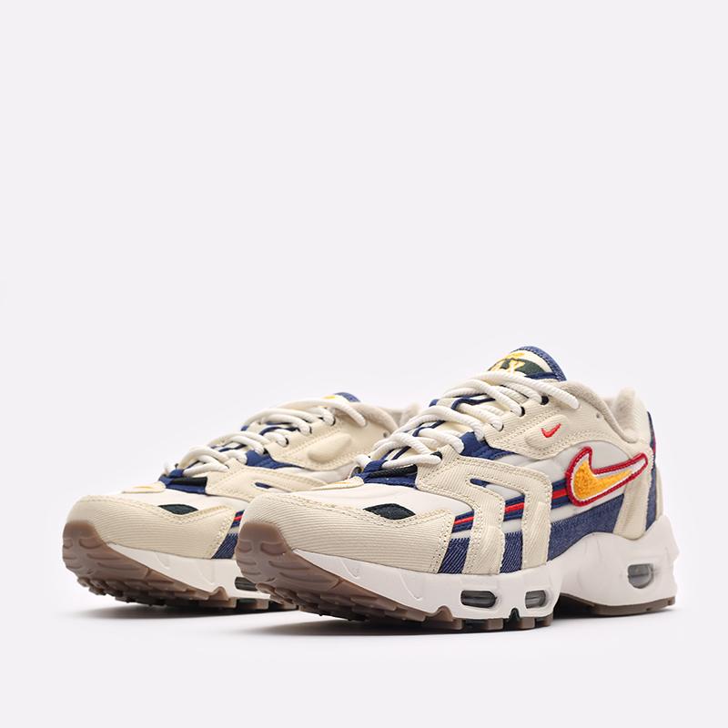 бежевые  кроссовки nike air max 96 ii qs DJ6742-200 - цена, описание, фото 4