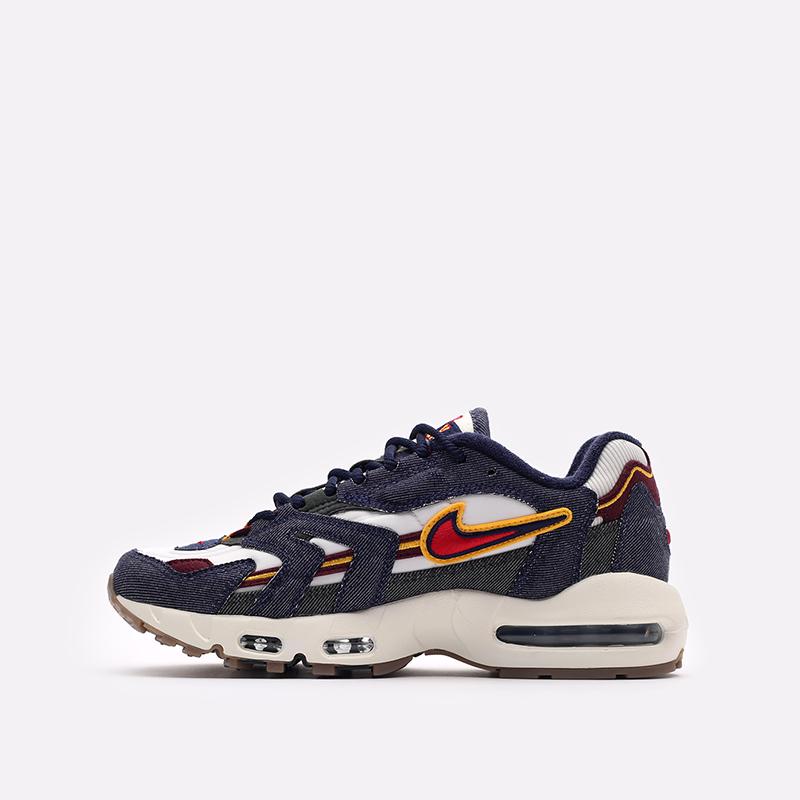 синие  кроссовки nike air max 96 ii qs DJ6742-400 - цена, описание, фото 2
