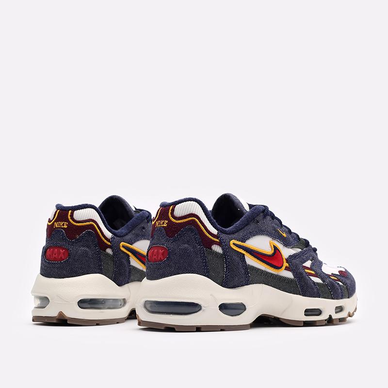 синие  кроссовки nike air max 96 ii qs DJ6742-400 - цена, описание, фото 3