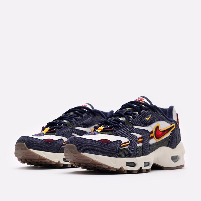 синие  кроссовки nike air max 96 ii qs DJ6742-400 - цена, описание, фото 4
