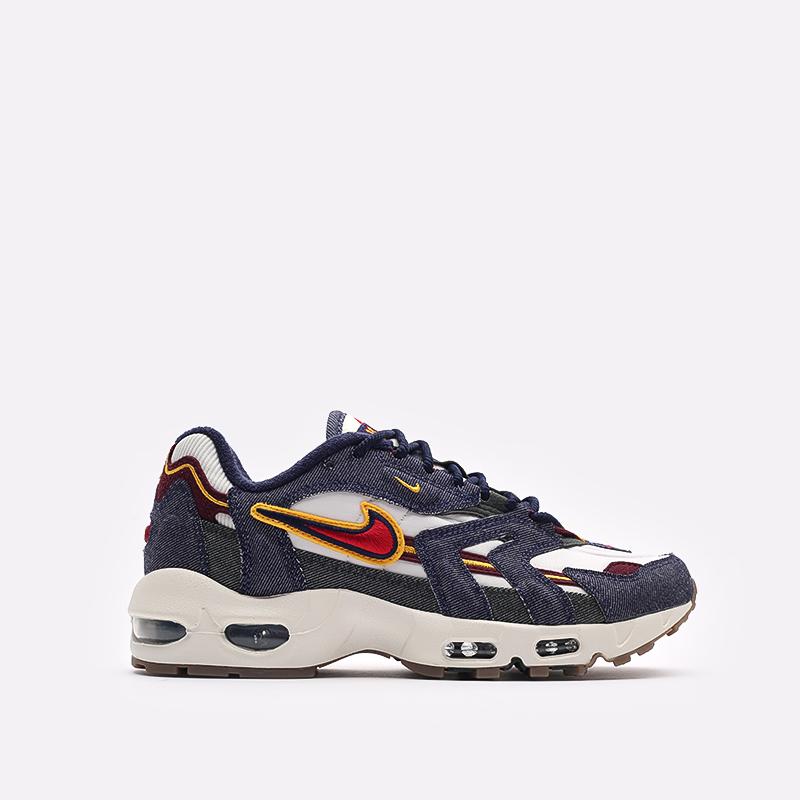 синие  кроссовки nike air max 96 ii qs DJ6742-400 - цена, описание, фото 1