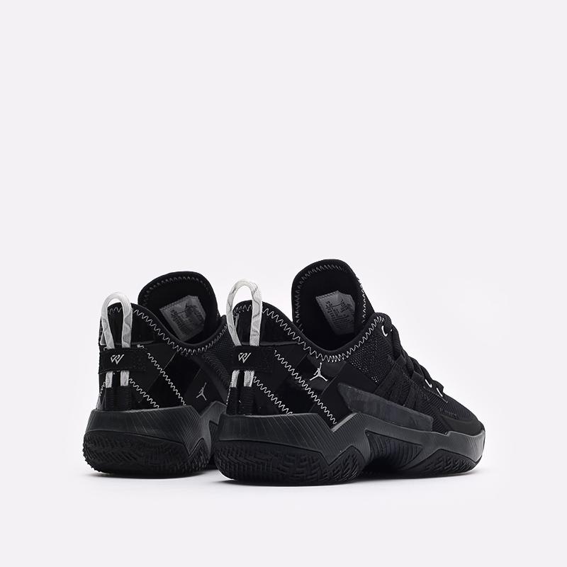 женские чёрные  кроссовки jordan one take ii (gs) CZ0840-001 - цена, описание, фото 3