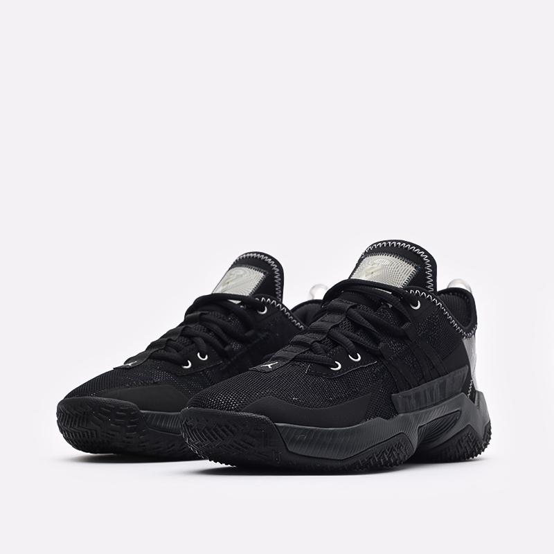женские чёрные  кроссовки jordan one take ii (gs) CZ0840-001 - цена, описание, фото 4