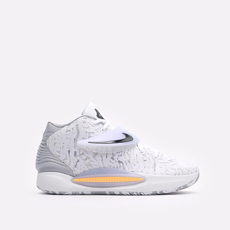 мужские белые  кроссовки nike kd14 CW3935-100 - цена, описание, фото 1