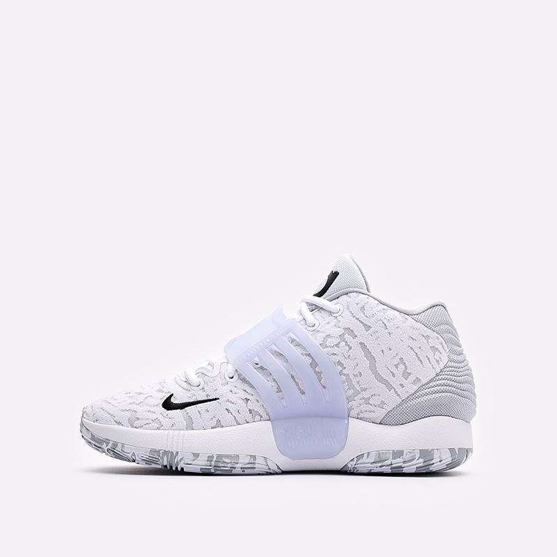 мужские белые  кроссовки nike kd14 CW3935-100 - цена, описание, фото 2