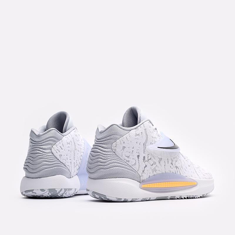 мужские белые  кроссовки nike kd14 CW3935-100 - цена, описание, фото 3