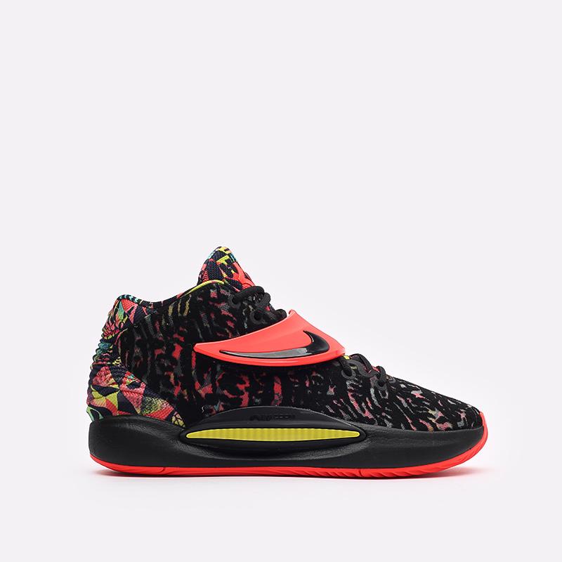 чёрные  кроссовки nike kd14 CW3935-002 - цена, описание, фото 1