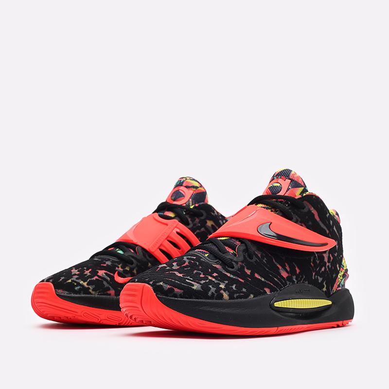 чёрные  кроссовки nike kd14 CW3935-002 - цена, описание, фото 4