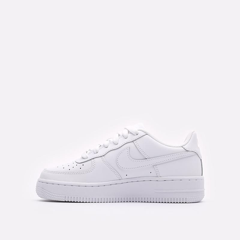 женские белые  кроссовки nike air force 1 le (gs) DH2920-111 - цена, описание, фото 2